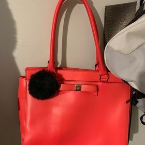 Kate Spade neon pink purse